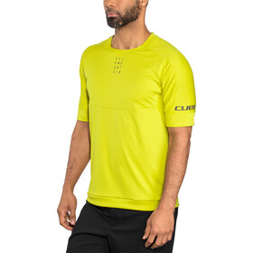 Cube AM Round Neck Jersey shortsleeve Men citrone